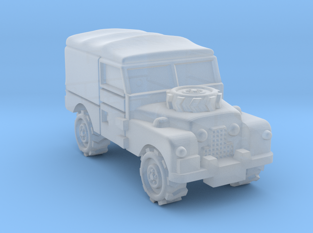 Land Rover 1:350 scale in Smooth Fine Detail Plastic