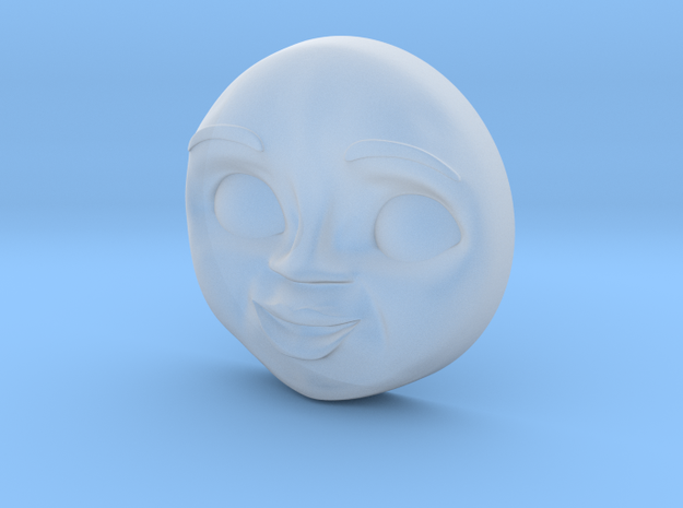 Nia Face [H0/00] in Smooth Fine Detail Plastic