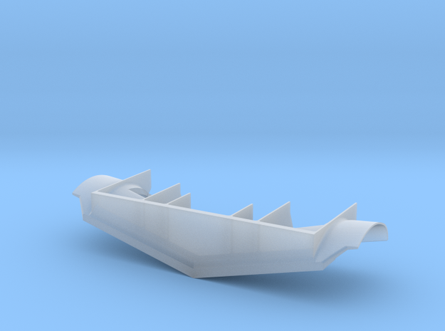 SP0002 CN Plow 1/87.1 in Smoothest Fine Detail Plastic