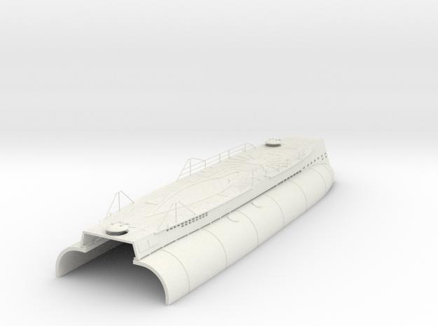 1/35 DKM U-boot VII/C Conning Hull-Deck Kit