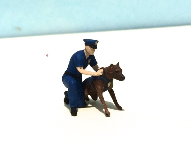 Police K-9 Unit Release in Smoothest Fine Detail Plastic: 1:64 - S