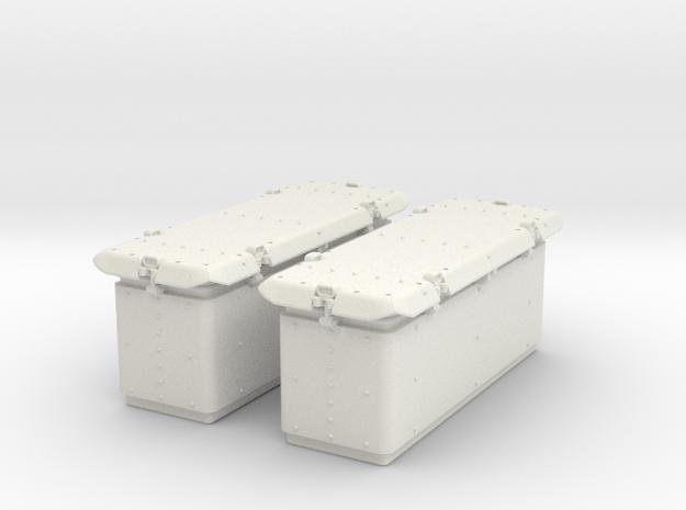1/29 Oerlikon US Navy Ammo Locker in White Natural Versatile Plastic