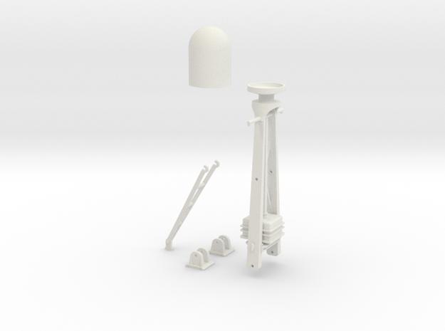 1/29 Radar Mast For PT BOAT in White Natural Versatile Plastic