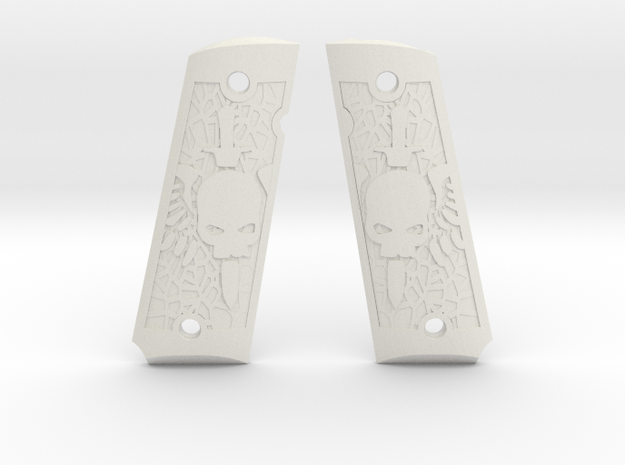 1911 - Death Wing in White Natural Versatile Plastic