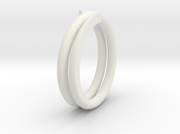 Handwheel Spring in White Natural Versatile Plastic