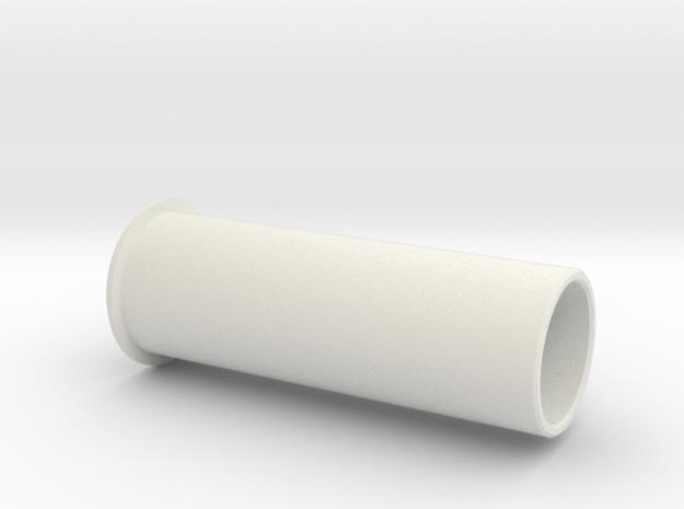 Centre Axle in White Natural Versatile Plastic