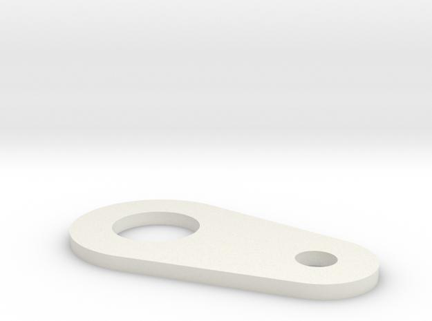 Cable lever in White Natural Versatile Plastic
