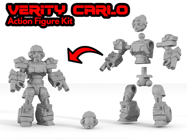 Verity Carlo Figure Kit