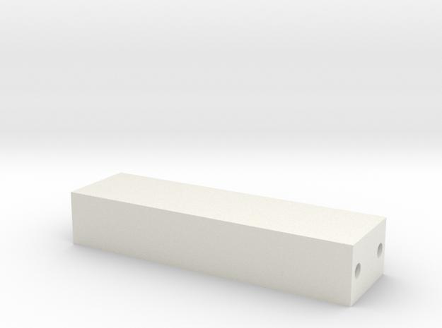Querträger V2 in White Natural Versatile Plastic