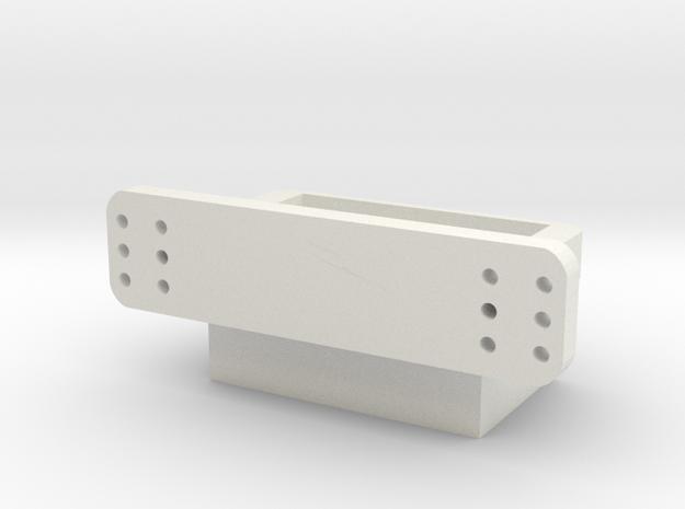 Karosseriehalter V2 in White Natural Versatile Plastic