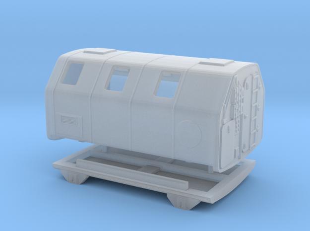 1:120 NVA Feuerwehr Koffer Lak 2  in Smooth Fine Detail Plastic