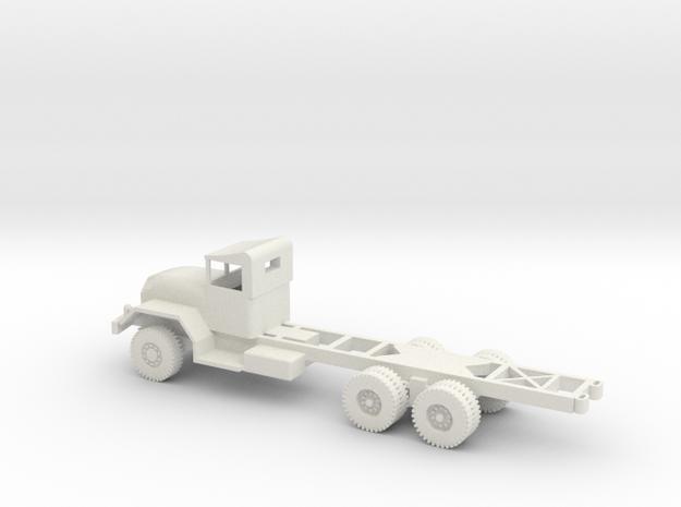 1/72 Scale M63 5 ton 6x6 Chassis.stl in White Natural Versatile Plastic