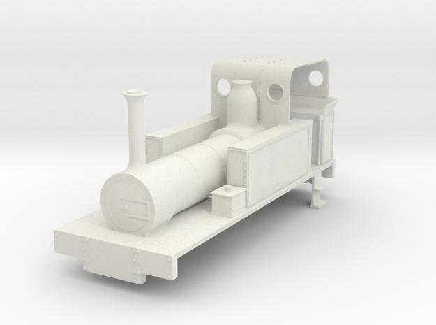 b-re-32-mw-eskdale-loco in White Natural Versatile Plastic
