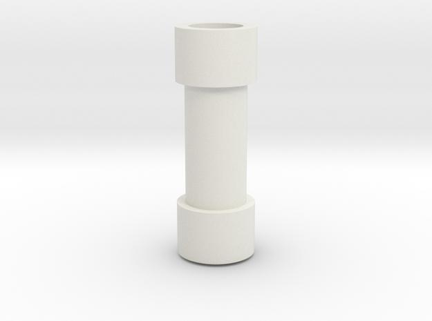 K14 throttle inner shaft in White Natural Versatile Plastic