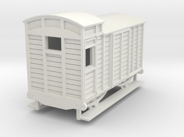 o-re-76-eskdale-brake-van in White Natural Versatile Plastic