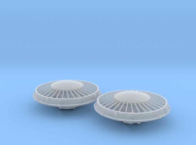 Dynamic Brake Cap Fan 1/48 in Smoothest Fine Detail Plastic