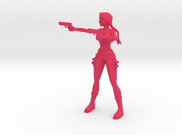 Lara Croft (Angel of Darkness) 3d printed
