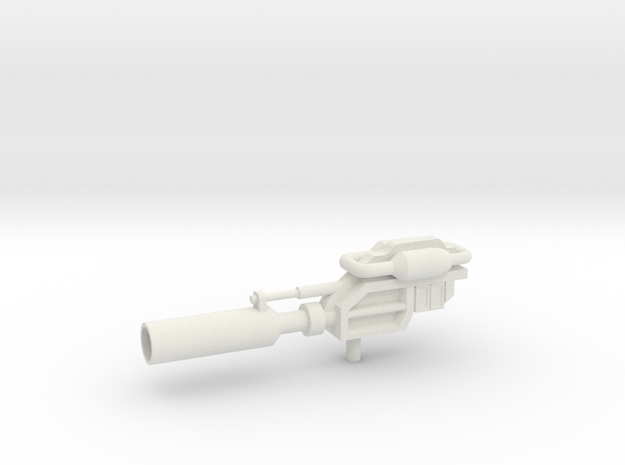 Prowlimus Gun in White Natural Versatile Plastic