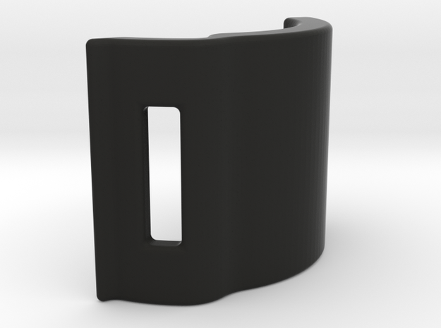 M210-MTPF-Armverbinder-Clip-T2-V1.0 in Black Natural Versatile Plastic