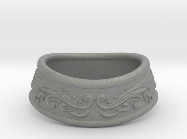 Paladin bracelet in Gray PA12: Small