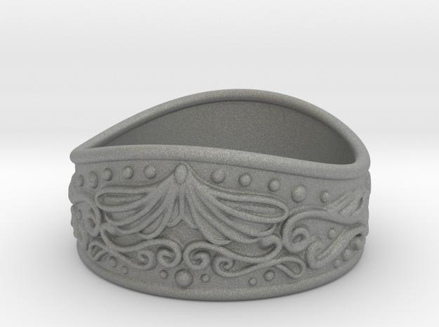 Knight bracelet in Gray PA12: Small
