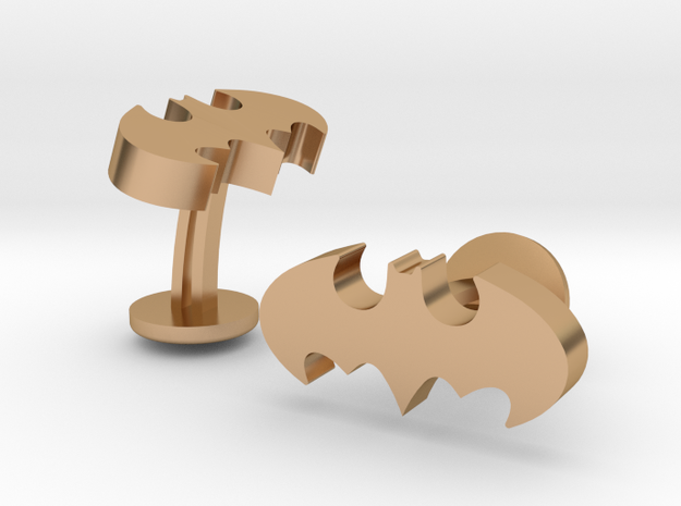 BM Classic Cufflinks in Polished Bronze
