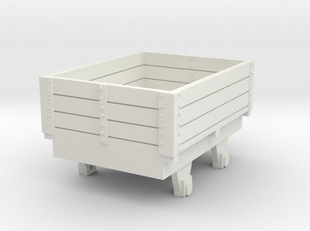 0-re-87-eskdale-ore-wagon in White Natural Versatile Plastic