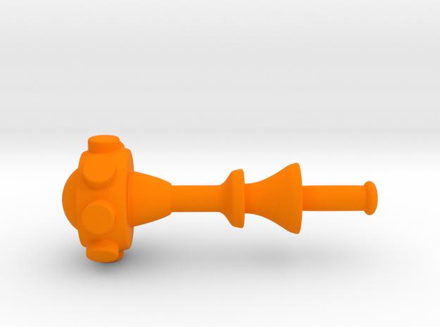 Motuc weapon  in Orange Processed Versatile Plastic