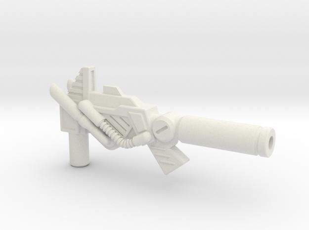 6mm Electron Cannon for Upsized PotP Sludge in White Natural Versatile Plastic