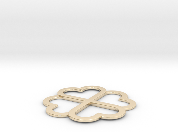 CloverKnot in 14K Yellow Gold