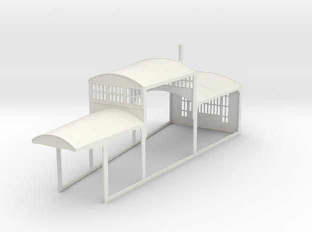 z-160-roundhouse-10-deg-mid-section-1 in White Natural Versatile Plastic