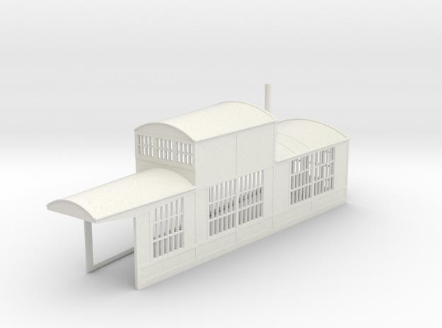 z-160-roundhouse-7-5-deg-right-side-section-1 in White Natural Versatile Plastic