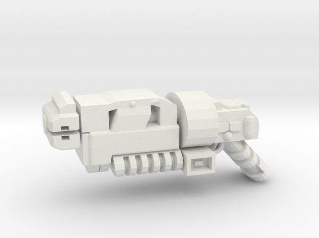 Gravy Gun Imperial Pattern in White Natural Versatile Plastic