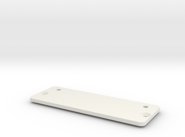 JaBird RC Electronics Side Tray in White Natural Versatile Plastic