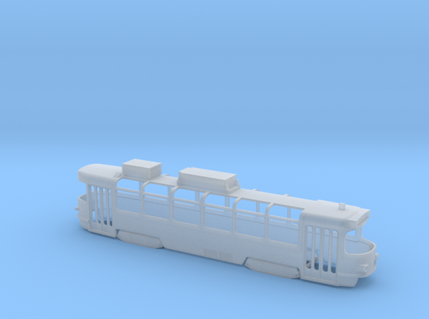 Gläserner Leipziger T4D in Smooth Fine Detail Plastic: 1:120 - TT