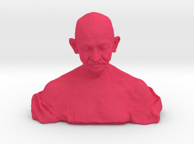 Gandhi by Ram Sutar in Pink Processed Versatile Plastic: Medium