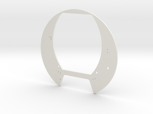 Mid section interior structure 2 in White Natural Versatile Plastic