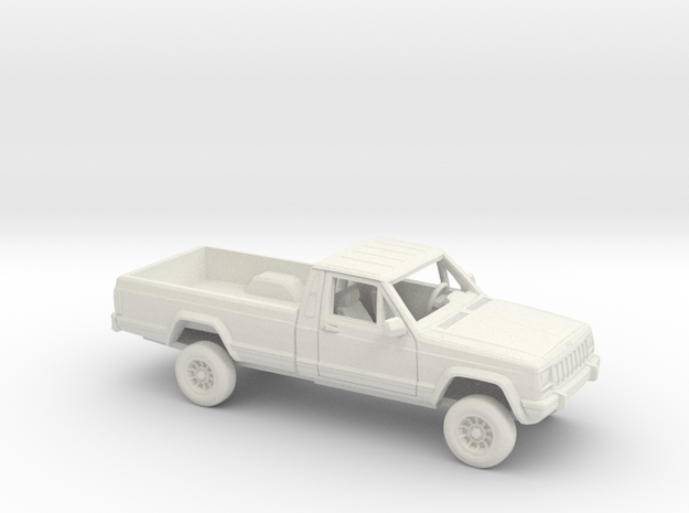 1-72 1984-96 4wheel Drive Pickup Kit in White Natural Versatile Plastic