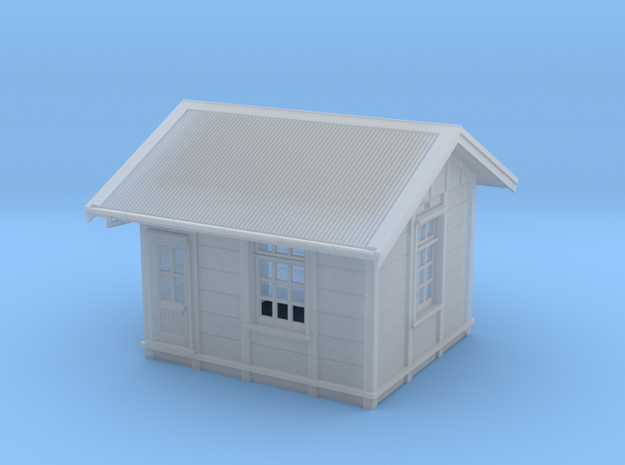 HO Gilmore PC Signal Box - Complete in Smooth Fine Detail Plastic