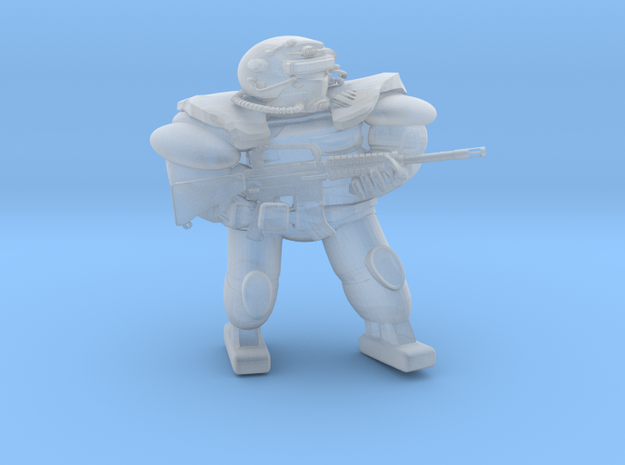 FallOut Fighter M16A2 in Smoothest Fine Detail Plastic