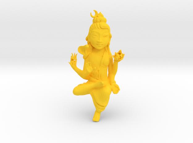 ShivaShakti in Yellow Processed Versatile Plastic: Medium