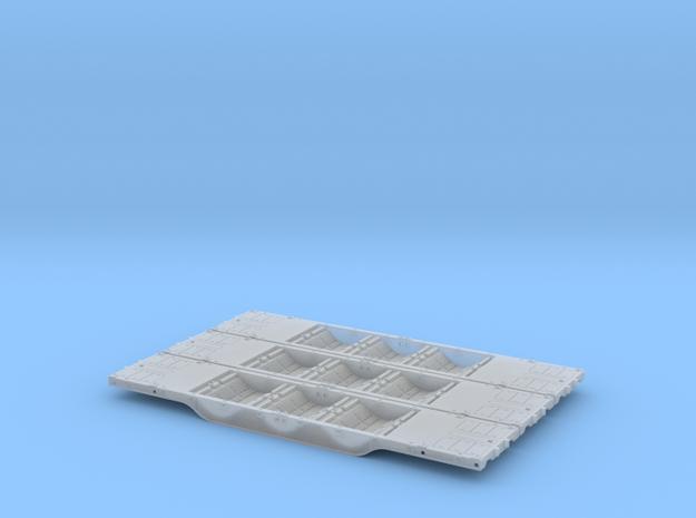Euskotren Sgh [x3] in Smooth Fine Detail Plastic: 1:120 - TT