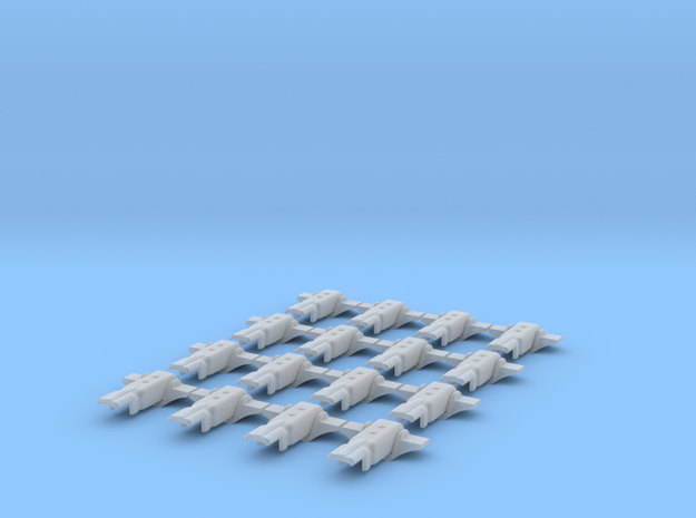 1.7 MICRO CHARNIERES ECUREUIL X16 in Smooth Fine Detail Plastic