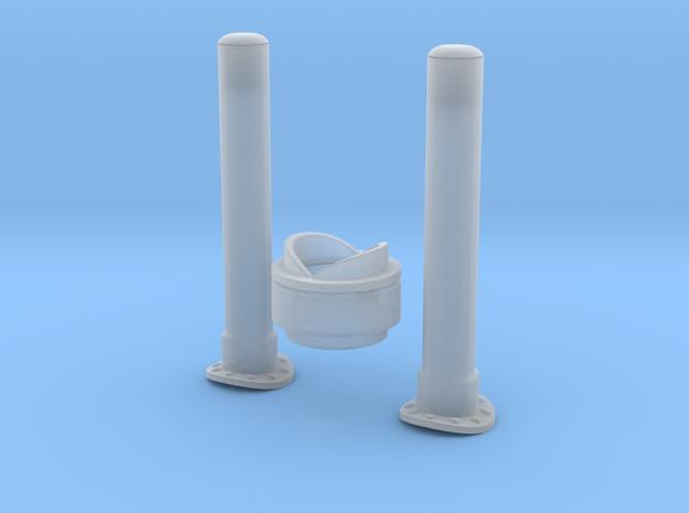 1.7 STROBE DE QUEUE ECUREUIL in Smooth Fine Detail Plastic