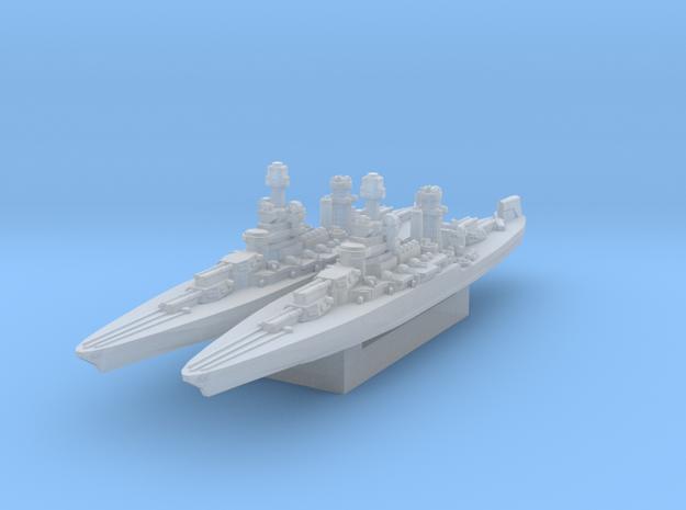 Maryland Battleship 1942 1/4800 in Smooth Fine Detail Plastic