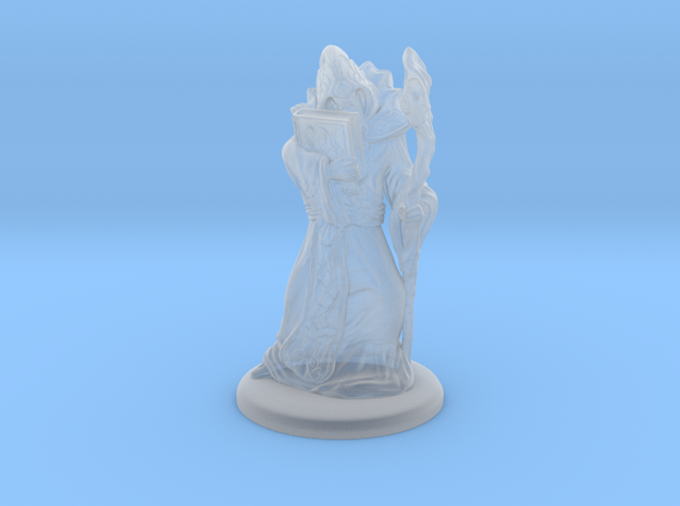 Arcane Mage/Wizard in Smooth Fine Detail Plastic