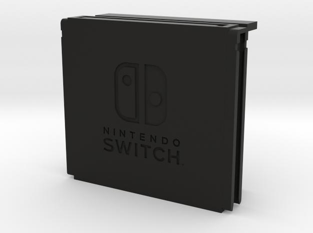 Switch game storage controller (set, Switch logo) in Black Natural Versatile Plastic