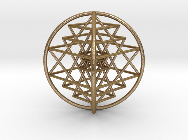 3D Sri Yantra 4 Sided Optimal 3""