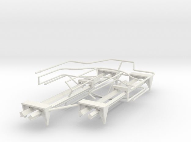 All Flak Depression Rails 20190804 in White Natural Versatile Plastic