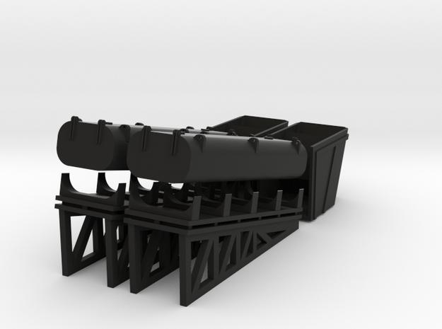 1/72 Missiles for Italian navy in Black Natural Versatile Plastic